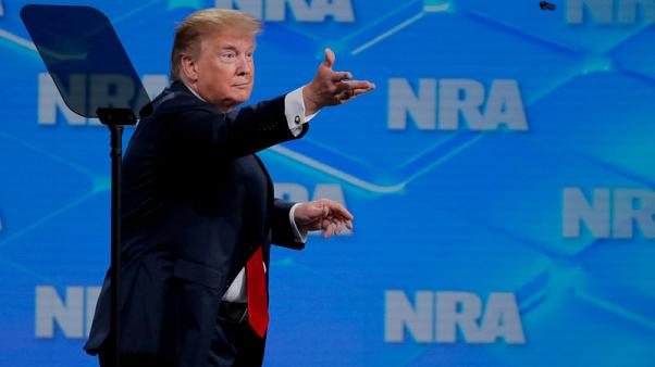 Trump says NRA could soften opposition to gun reforms after mass shootings