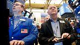 بورصة وول ستريت تغلق منخفضة مع تجدد مخاوف التجارة