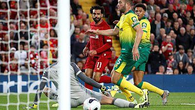 ليفربول يسحق نوريتش سيتي 4-1 في افتتاح الدوري الإنجليزي