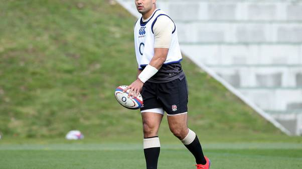 Rugby - Te'o, Brown dropped by England after brawl - report