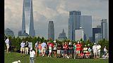 Golf: Northern Trust, Johnson leader