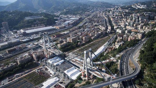 Nasa, il Morandi si muoveva dal 2015