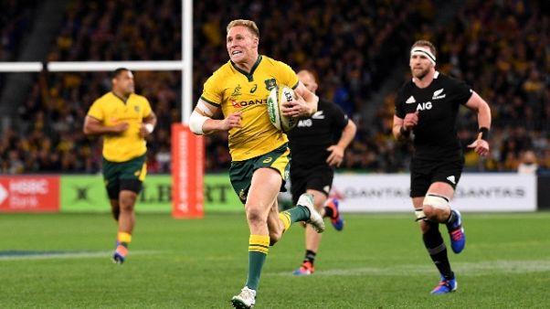 Rugby: All Blacks ko, vince l'Australia
