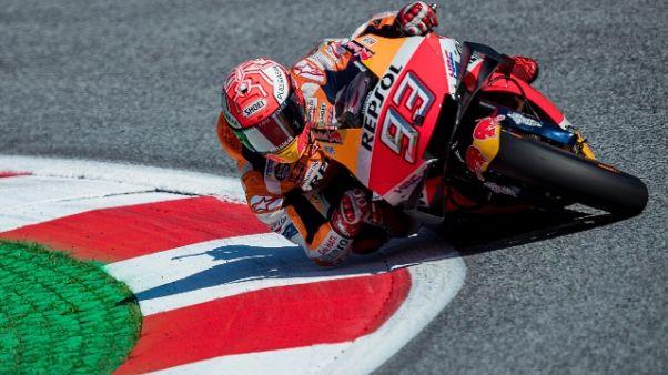 Moto: Austria, pole di Marquez