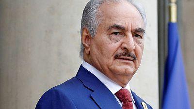 بيان: حفتر يعلن وقف العمليات العسكرية في ليبيا خلال عيد الأضحى