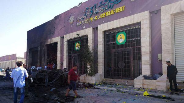 مقتل ثلاثة من موظفي الأمم المتحدة في انفجار سيارة ملغومة ببنغازي