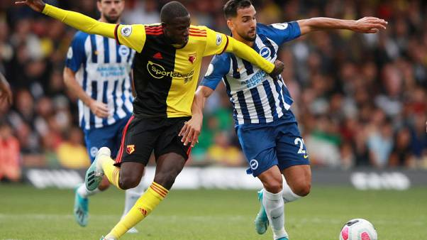 Maupay makes perfect start as Brighton stun Watford 3-0