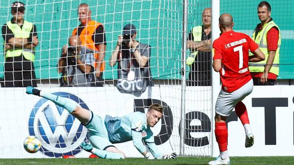 Bundesliga clubs Mainz, Augsburg suffer shock German Cup defeats