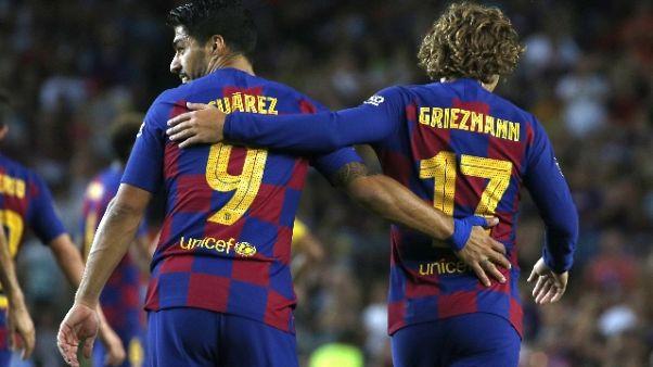 Napoli ko 4-0 in amichevole con Barça
