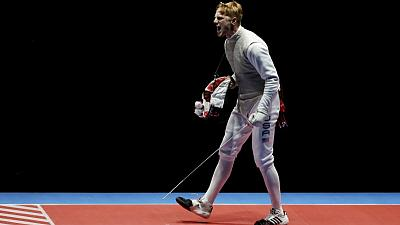 Fencer faces disciplinary action for political protest - USOPC