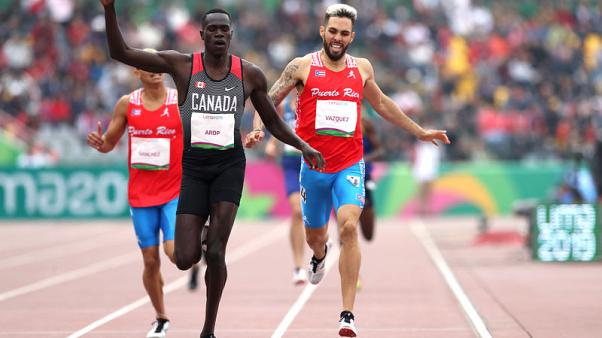 Pan Am Games - Canadians set two records, U.S. wins four golds in athletics