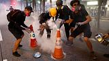 Hong Kong police and protesters refine battle tactics