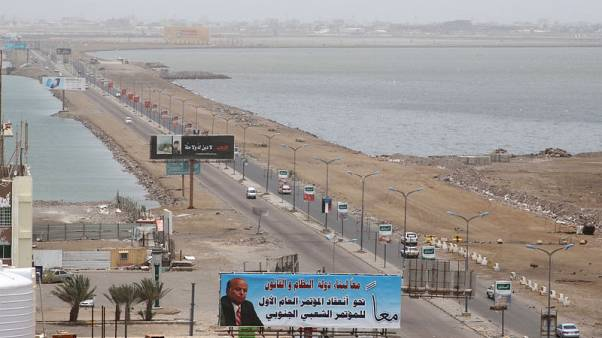 Saudi-led coalition moves against separatists who seized Aden in blow to alliance