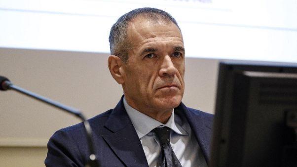 A Carlo Cottarelli Premio Caccuri 2019