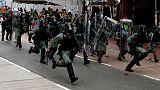 أساليب جديدة في المواجهة بين الشرطة والمحتجين في هونج كونج