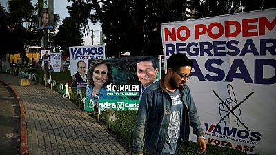 الناخبون في جواتيمالا يختارون رئيسا جديدا سيقع على عاتقه التصدي لأزمة الهجرة