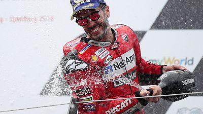 Dovizioso wins last corner thriller in Austria