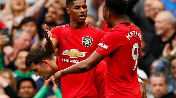 Rashford grabs brace as United put four past Lampard's Chelsea