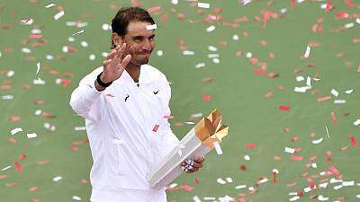Nadal crushes Medvedev to retain Montreal title