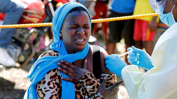 منظمة الصحة تقول إنها طعمت أكثر من 1300  شخص ضد الإيبولا في جوما