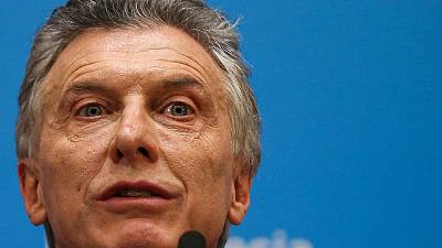 Macri's vows to win second term after Argentine peso crashes on primary results