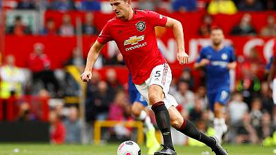 Maguire catches Mourinho's eye on Manchester United debut