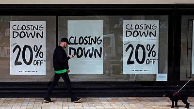 Britain's empty shops hits highest level since 2015 - Springboard