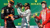 F1: Verstappen punzecchia Hamilton