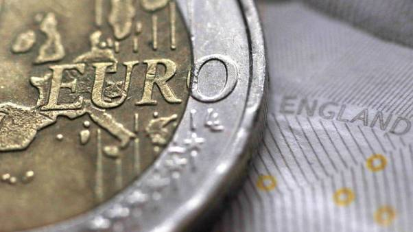 Sterling off lows as Italy's political woes hit euro