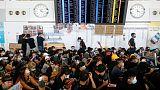 سلطات مطار هونج كونج تلغي كل الرحلات يوم الاثنين