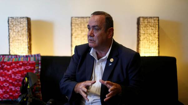 Guatemala election winner sets sights on changing Trump migrant deal