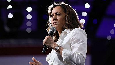 Presidential hopeful Kamala Harris seeks campaign jolt in pivotal Iowa