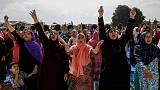 Indian authorities lock down Kashmir's major city on Eid holiday