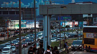 إلغاء جميع رحلات مطار هونج كونج مع تصاعد الاحتجاجات