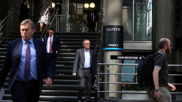 Lloyd's of London meets second-quarter electronic trading target
