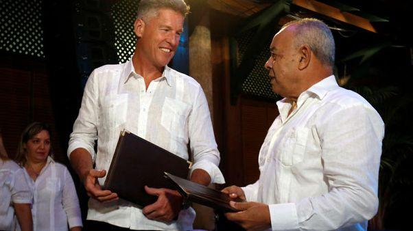 Beverage giant Diageo to market Cuban rum