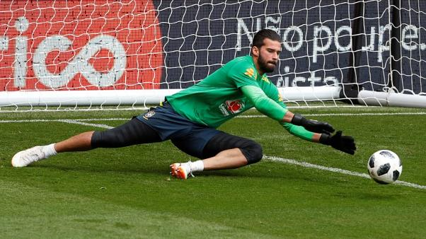 Liverpool's Alisson out injured for 'next few weeks', says Klopp