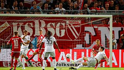 Soccer: Bayern ease past Cottbus 3-1 into German Cup second round