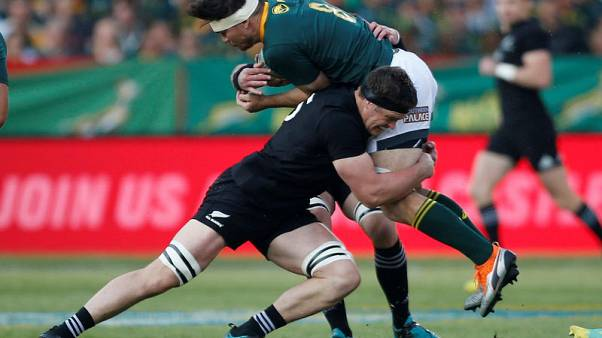 Rugby: All Black Barrett banned for three weeks for red card