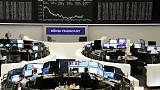 Shares fall after Argentina peso tumble, safe-havens shine