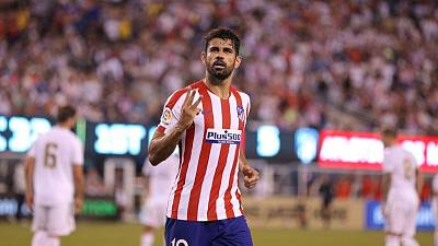 Atletico's Costa suffers latest injury setback ahead of new season