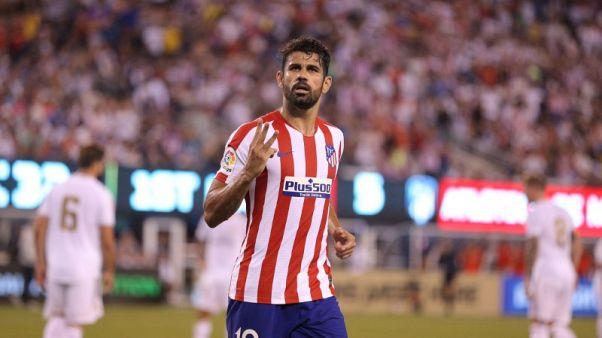 Atletico's Costa suffers latest injury setback ahead of new season