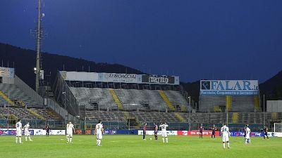 Brescia-Perugia si giocherà al 'Curi'
