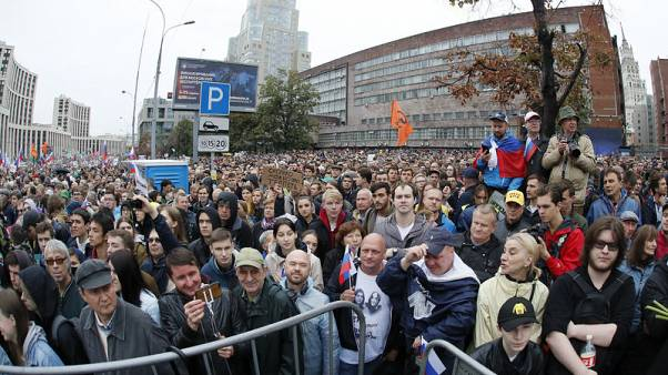 Kremlin says protests in Moscow have not created a political crisis