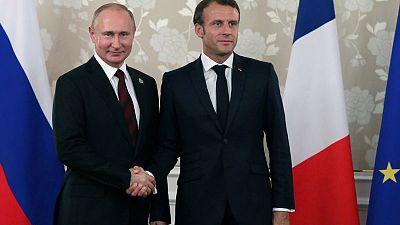 Putin to visit Macron in France this month to discuss Ukraine - Kremlin