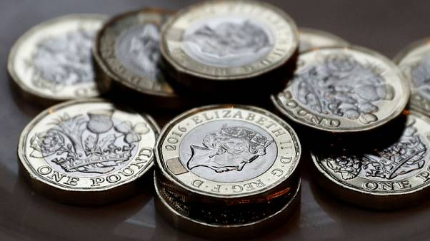 Sterling hovers near 2-1/2 year lows despite robust wage data