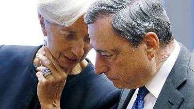 Draghi's parting gift to tie Lagarde's hands