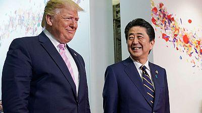وكالة: ترامب طلب من رئيس الوزراء الياباني شراء منتجات زراعية أمريكية