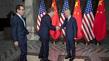 China's vice premier talks with U.S. trade officials - Commerce Ministry