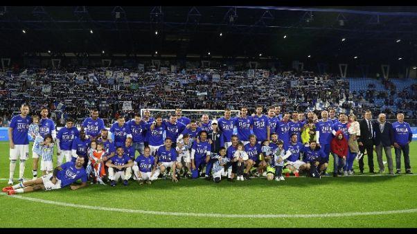 Coppa Italia:Spal-Feralpisalò al 'Mazza'